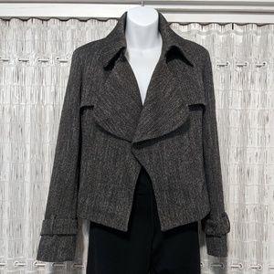 Anne Klein Grey Tweed Suit Jacket